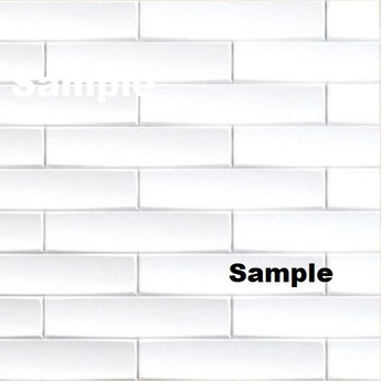 Subway Tile White Texture Cm