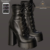 DIRTY PRINCESS- Problematic Princess Boots w/Hud 17 Colors