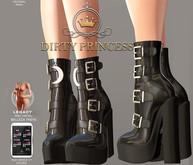 DIRTY PRINCESS- Magical Princess Boots w/Hud 17 Colors