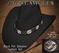 Black Felt Reindeer CB Hat  Stone's Works