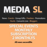 SPECIAL EVENTS - 2 MONTHLYS SUBSCRIPTION