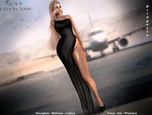[Sexy Princess] Bridgette Black Gown