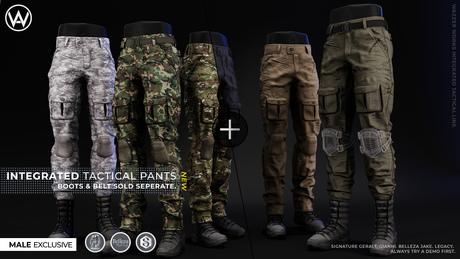 [WAZ] Integrated Tactical Pants (Fatpack)