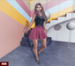 mp  187 t shirt   vest emely   skirt christy   shoes lilith