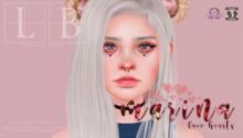 Ladybird. //  Marina Face Hearts