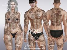 -[CL]- XRsix Tattoo (BOM/Legacy/Signature/Maitreya/OMEGA)
