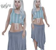 Eyelure Boho Skirt   Stone