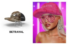 BETRAYAL. Prynson Hat FATPACK Unisex and Resizeable