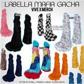 .: Vive x Merch :. LaBella Mafia Long Coats - Navy