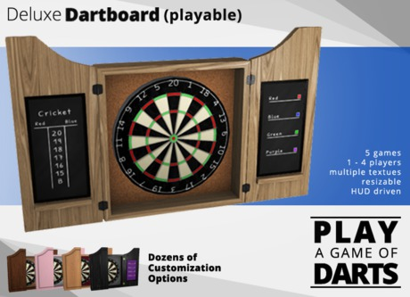 Deluxe Dartboard (playable)
