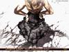 !Skifija Dragon Lady Skirt (Burlesque style)