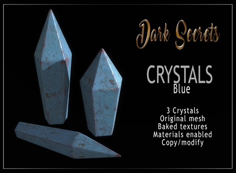 Dark Secrets - Crystal  Blue