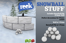 Reek - Snowball Stuff - Cool winter props for your land!