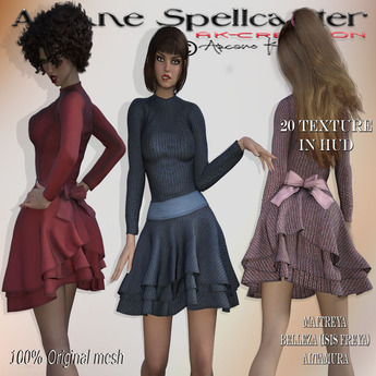 Dress Antonella *Arcane Spellcaster*