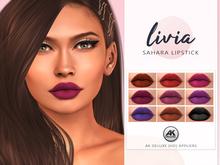 LIVIA Sahara HD Lipstick [AK Deluxe]