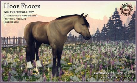 Jinx : Hoof Floofs for Teegle Pet