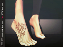 .: TAOX :. TaTToo Applier // Feets Rose Cross