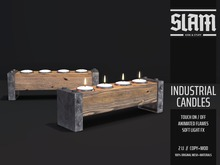 SLAM // industrial candles