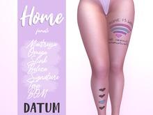 DATUM // HOME TATTOO ♀ ♂ #STAYHOME