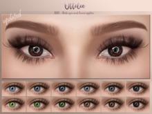Ottilie - Aqua Eyes - Mesh eyes & Genus eye applier