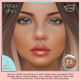 !! 50%OFF !! :::DS::: Freya Skin [ BoM ] --{T5}-- : CATWA / MAITREYA [ADD]