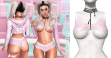 Spoiled - Playful Gamer Top Baby Pink