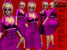**LADIJA PINK VERSION PI UP STYLE COMPLET OUTFIT** (WEAR)