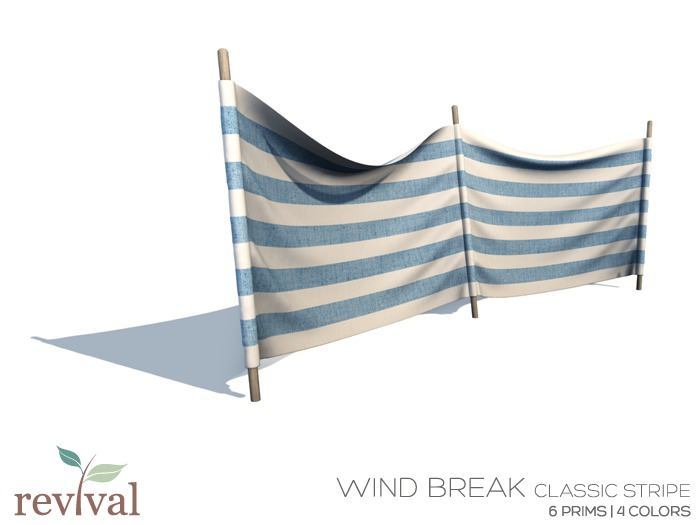.:revival:. wind break classic stripe