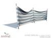 Revival   wind break classic stripe blue
