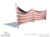 Revival   wind break classic stripe red