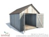 .:revival:. beach shed blue
