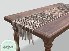 Ariskea[Botanica]  Macrame TableCloth