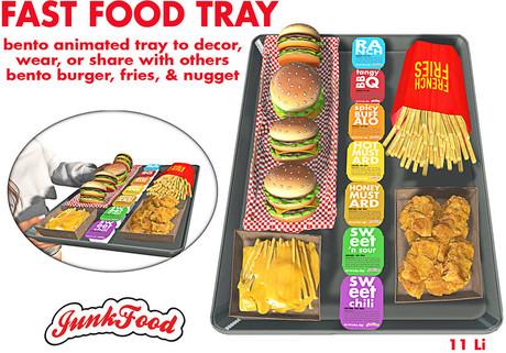 Junk Food - Fast Food Tray