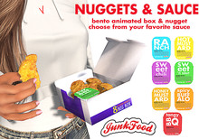 Junk Food - Nuggets Sweet & Sour