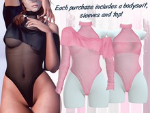 Lunar - Miki Top & Bodysuit - Dawn (Boxed)