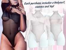 Lunar - Miki Top & Bodysuit - White (Boxed)