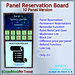 STC Panel Reservation Board (10 Slots) [Copy]