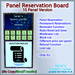 STC Panel Reservation Board (10 Slots) [Single,Trans]