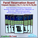 STC Panel Reservation Board (FatPack) [Copy]