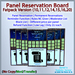 STC Panel Reservation Board (FatPack) [Single,Trans]