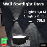 *DenPaMic* Wall Spotlight Dave
