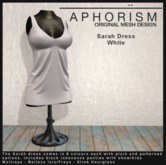 !APHORISM! - Sarah Dress White