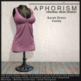!APHORISM! - Sarah Dress Candy