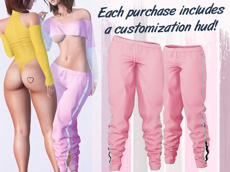 Lunar - Miki Track Pants - Baby Pink