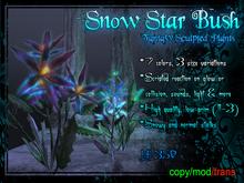 Snow Star Bush Set