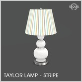Sequel - Taylor Lamp - Stripe