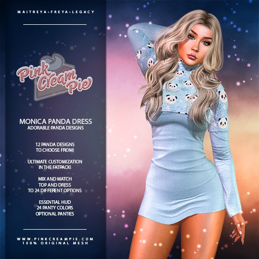 !PCP :: Monica Dress [Panda Pack]
