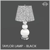 Sequel - Taylor Lamp - Black (Wear Me)