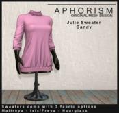 !APHORISM! - Julie Sweater Candy
