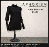 !APHORISM! - Julie Sweater Black